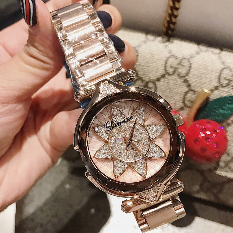Rose Gold Watch Women Watches Fashion Women's Watches Top Brand Luxury Ladies Watch Clock relogio feminino reloj mujer saat