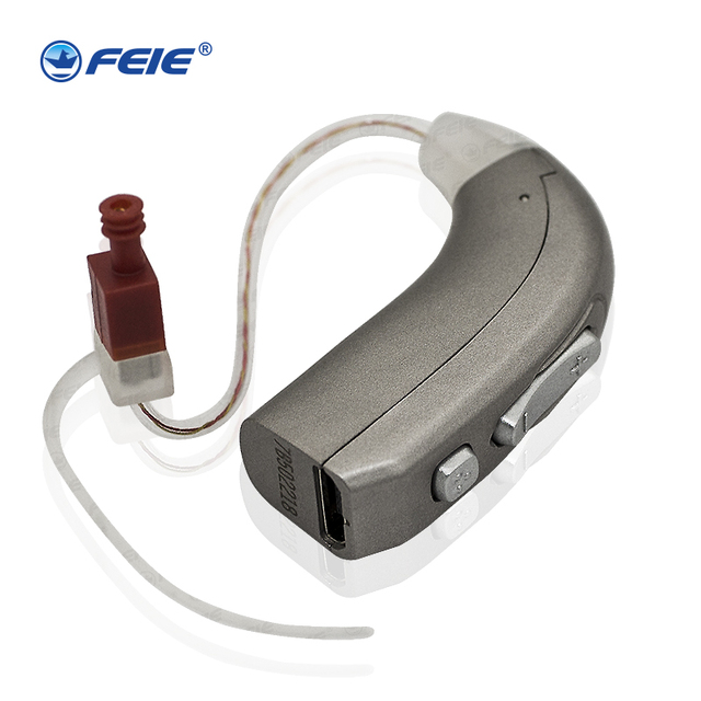 Cheap USB Aide Auditive Rechargeable MY-33 Sound Enhancement Listening Earphone for deaf Hot sale Drop SHipping