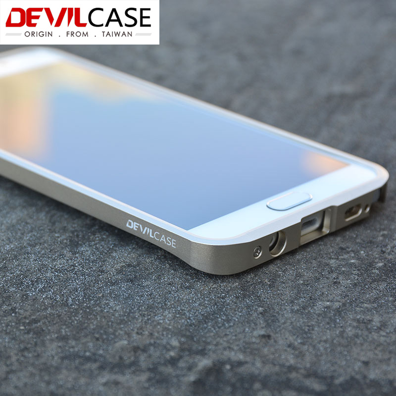 huge selection of 14a25 e8490 US $58.0 |DHL Free For SAMSUNG Galaxy Note 5 N9200 Original TAIWAN  DEVILCASE Aluminum Alloy Metal Bumper Frame CNC Cutout 2015 New on  Aliexpress.com | ...