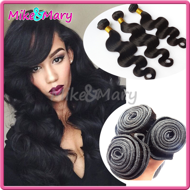 Promotion Brazilian Body Wave 3 Bundles Human Virgin Hair Extension 6A Brazilian Body Wave 3 Bundle 16 18 20 Inch Human Body
