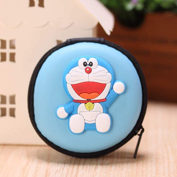 2017 New Novelty Super Heroes Silicone Coin Purse Key Wallet Mini Storage Organizer Bag Dual Earphone Holder Birthday Gift