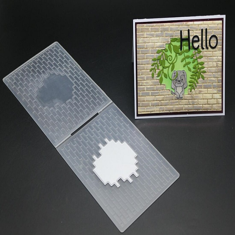 FeLicearts 3D Creative Embossing folder plates Design DIY Paper Cutting Dies Scrapbooking Plastic Embossing Folder new arrival in Embossing Folders from Home Garden