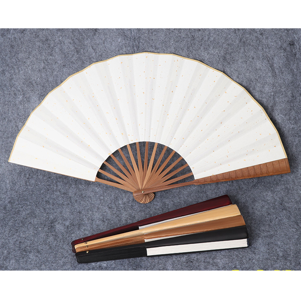New Chinese Style Hand Held Fan Blank Silk Cloth Folding Fan Party Wedding Decor Japanese Style Concise Home Decoration Fans