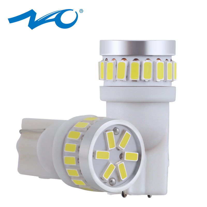 NAO Light Car-Interior-Light Motorcycle-Clearance T10 W5w Automobiles Car Led 12v 168