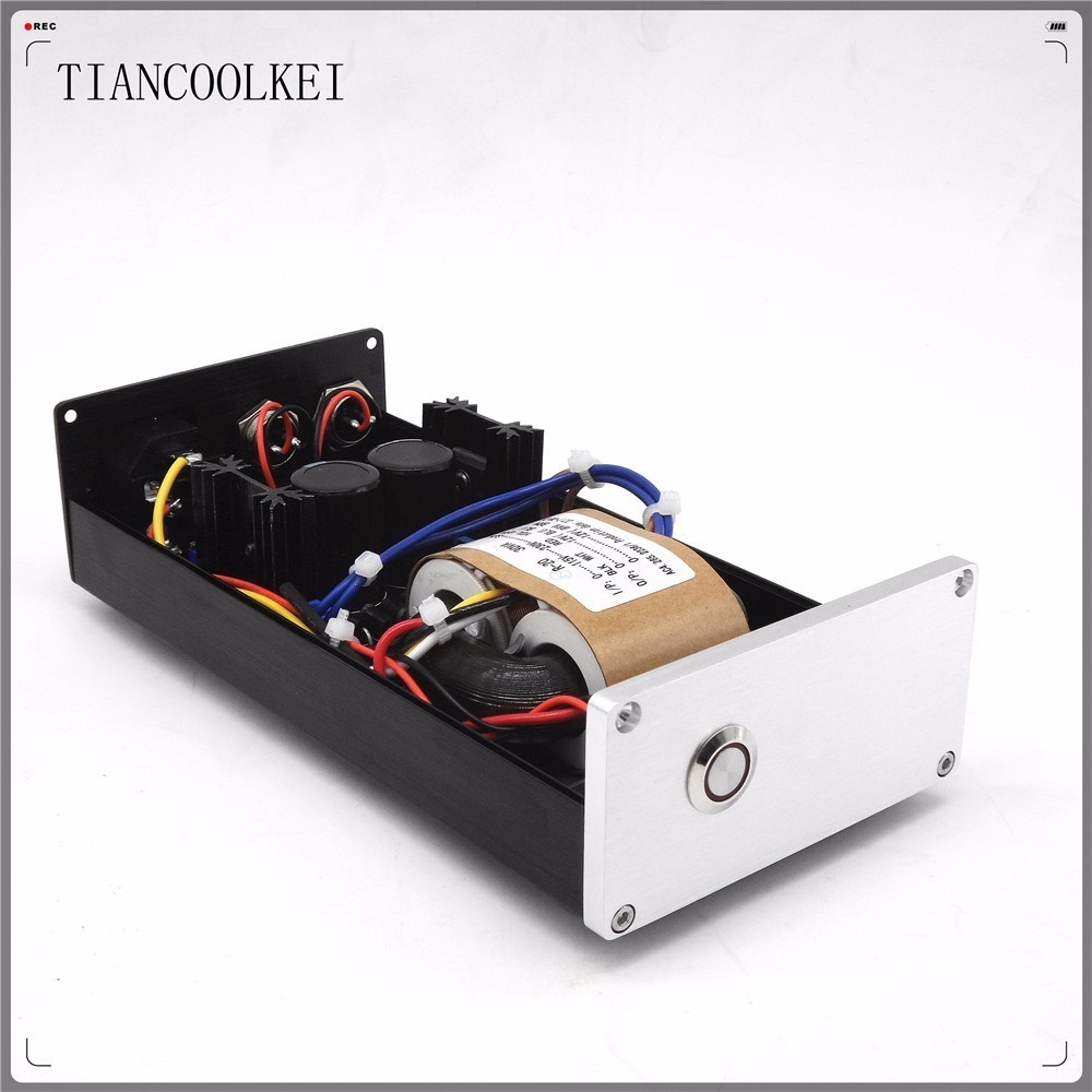 MS-10D Dual output Regulator linear power supply DC12V 2.5A 30W tube Preamplifier Audio Decoder Professional Power AdapterMS-10D Dual output Regulator linear power supply DC12V 2.5A 30W tube Preamplifier Audio Decoder Professional Power Adapter