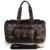 Couro moda genuínas dos homens de couro de luxo saco de viagem saco de viagem masculino bolsa de negócios tote do curso saco barril bolsa de negócios M tamanho