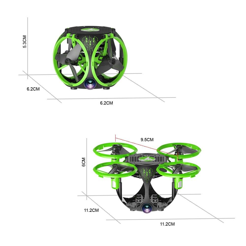 FQ26 WiFi FPV Mini Drone Quadrocopter with Camera 0.3MP Altitude Hold G-sensor Foldable Dron Quadrupter APP Phone Control RTF (17)