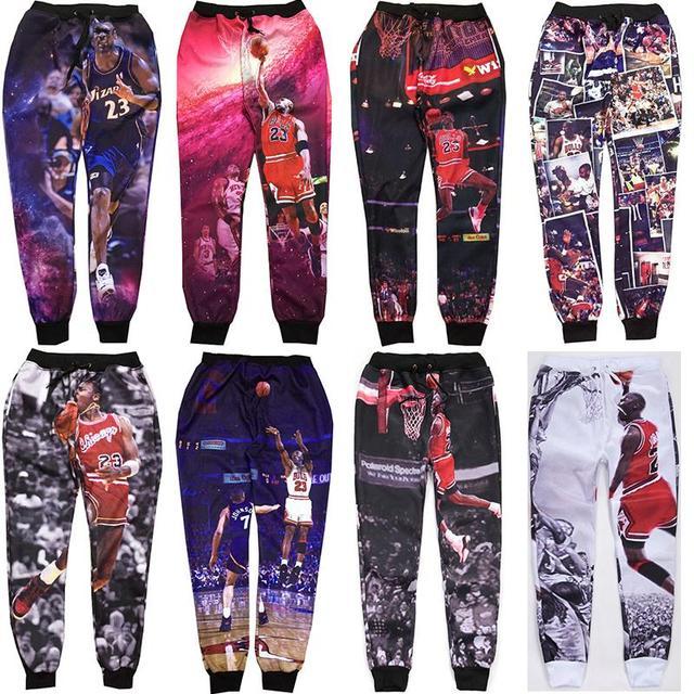 dd688c7f41f382 2015 New 3D Trousers Michael Jordan Classic Play Basketball Graphic Printed  Sweatpants Jordan Joggers Pants Hip Hop Mens Joggers