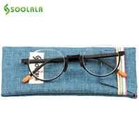 SOOLALA Moda Oko Okulary Mężczyzna Pół Oprawie Okularów Ramki Mężczyźni Panowie Kobiety Okrągły Połowa Rama óculos De Grau Darmowa Wysyłka