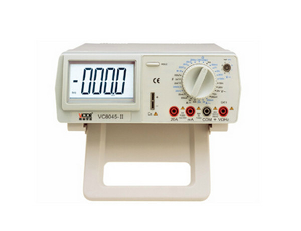 1pcs/lot Digital Multimeter VICHY VC8045 Bench Top 4 1/2 True RMS DCV/ACV/DCA/ACA DKTD012 digital multimeter bench top 4 1 2 true rms dcv acv dca ac precision desktop multimeter vici vc8045
