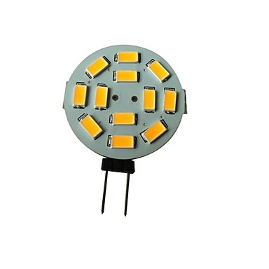 10 X BEEFORO High Brightness <font><b>G4</b></font> 1.5W <font><b>12</b></font> SMD 5630 250-270LM LM Spot Lights Warm White Cool White T Decorative Corn Bulbs DC <font><b>12</b></font> <font><b>V</b></font> image
