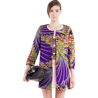 Fashion Women African Print Outwear African Dashiki Clothes Custom Exquisite Tailoring Design Coat Africa Clothing