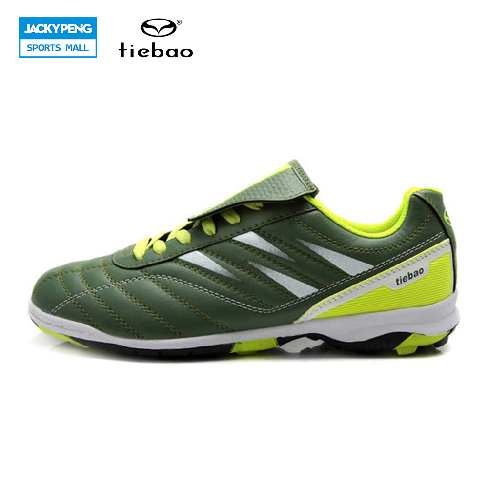 TIEBAO Professional Outdoor Soccer Shoes TF Turf Sole Football Shoes Sneakers Children Kids ...