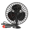 New Portable Car Cooling Fan 12V Auto Mini Cooler Cigarette Lighter charger with Suction Cup E#A3