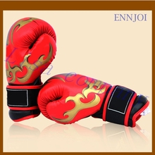 2016 hot sale a pair of adult boxing free combat sandbag senior PU gloves Muay Thai