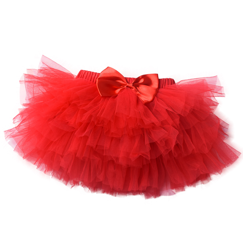 Infant baby tutu skirt Toddle girls cake Newborn Pettiskirt Birthday Lace Mesh Pettiskirt Crimson White Children Skirts lace panel sheer mesh skirt