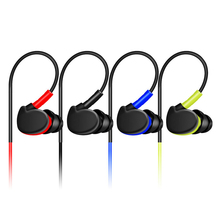 qijiagu Stereo sport Running wired Earphone Headset computer HIFI Handsfree with mic for android phone mp3/4/PC