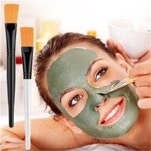 2/3PCS Transparent Handle Women Face Mask Makeup Brushes Mud Mixing Facial Brush Cosmetic Makeup Kit Beauty Makeup Mask Brush