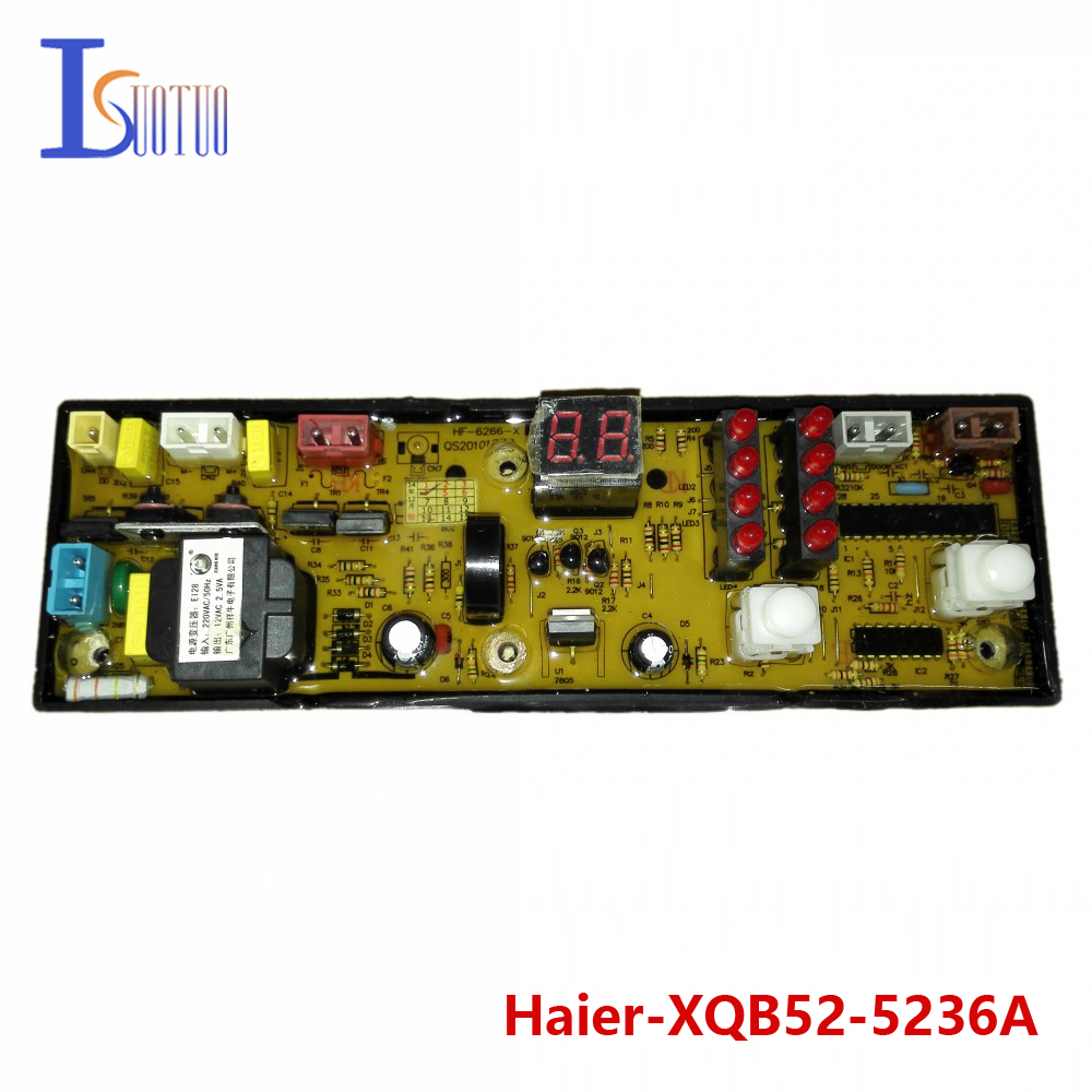 Haier washing machine brand new computer board XQB52-5236A HF-6266-X XQB52-5228 brand new original haier washing machine motherboard 50 20h