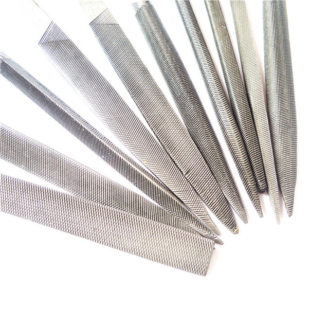 10pcs Wood Rasp Files Needle Mini File Set Carving Tools Microtech Metal Filing Tool Woodworking DIY Folder Hobby Hand Diameter