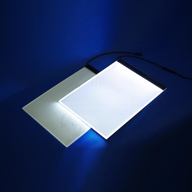 A4 Portable LED Light Box Drawing Board Artist Drawing Pad,Tracing Drawing Table Tattoo Pad