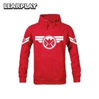 Men S Marvel The Avengers Captain America Shield Hoodie Jacket
