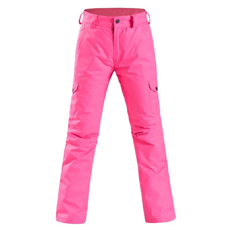 Pantalon de Ski femme pantalon de Ski chaud coupe-vent imperméable neige snowboard pantalon femme extérieur hiver pantalon de Ski pantalon - 6