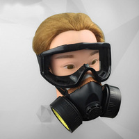 Dust Mask + Antifog Goggle Dual Protective Filter Cutton Industrial Adult Pm2.5 Respirator Painting Spraying Anti Pesticide