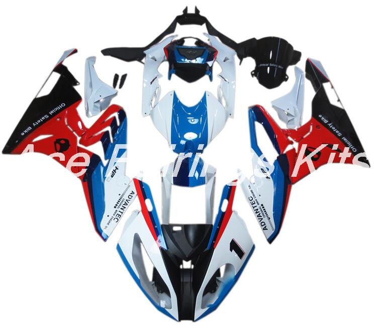 New ABS motorcycle Fairings Kit Fit For BMW S1000RR 2015 2016 S1000 2015 2016 Injection Mold Bodywork set blue white red image