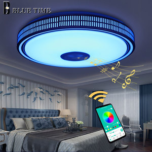 Image 4 - Lustres Modern LED Chandelier For Living room Bedroom Lampara techo Led Ceiling Chandeliers Lighting Bluetooth Control With Lamp