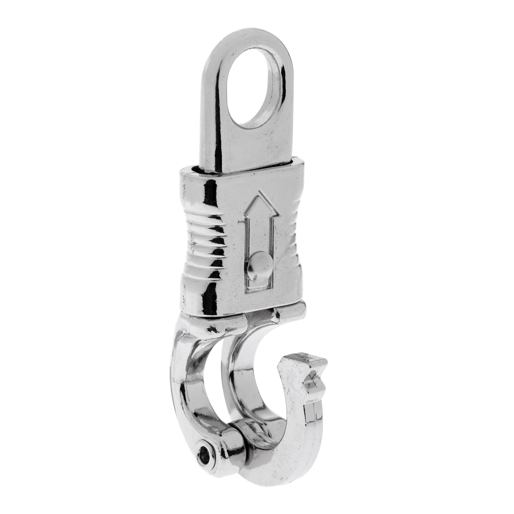 1 Pcs Heavy Duty 100mm Zinc Alloy Equestrian Lead Reins Panic Hook/ Quick Release Clip Horse Stable Accessories Silver