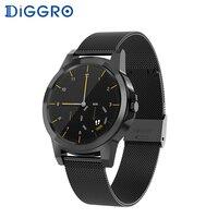 Diggro DI03 плюс Bluetooth Смарт часы Водонепроницаемый монитор сердечного ритма шагомер Sleep Monitor для Android и IOS pk DI02