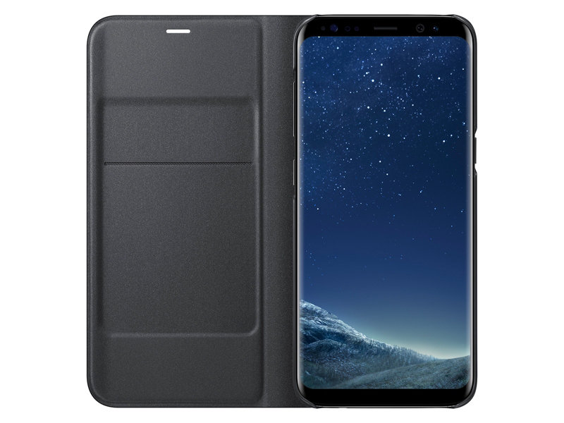 sale retailer c52d5 4d962 US $36.86 10% OFF|SAMSUNG Original LED View Cover Smart Cover Phone Case EF  NG955 for Samsung Galaxy S8 S8+ S8 Plus S8+ Sleep Function Card Pocket-in  ...