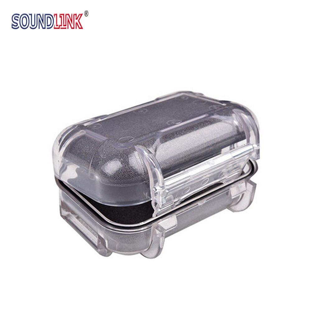 Waterproof Hearing Aid Hard Case IEM Earphone Storage Carrying Box Holder
