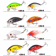 SEAPESCA Fishing Lure 50mm 3.7g Topwater Minnow Hard Bait Japan Mini Crankbait Carp Fishing Wobblers JK204