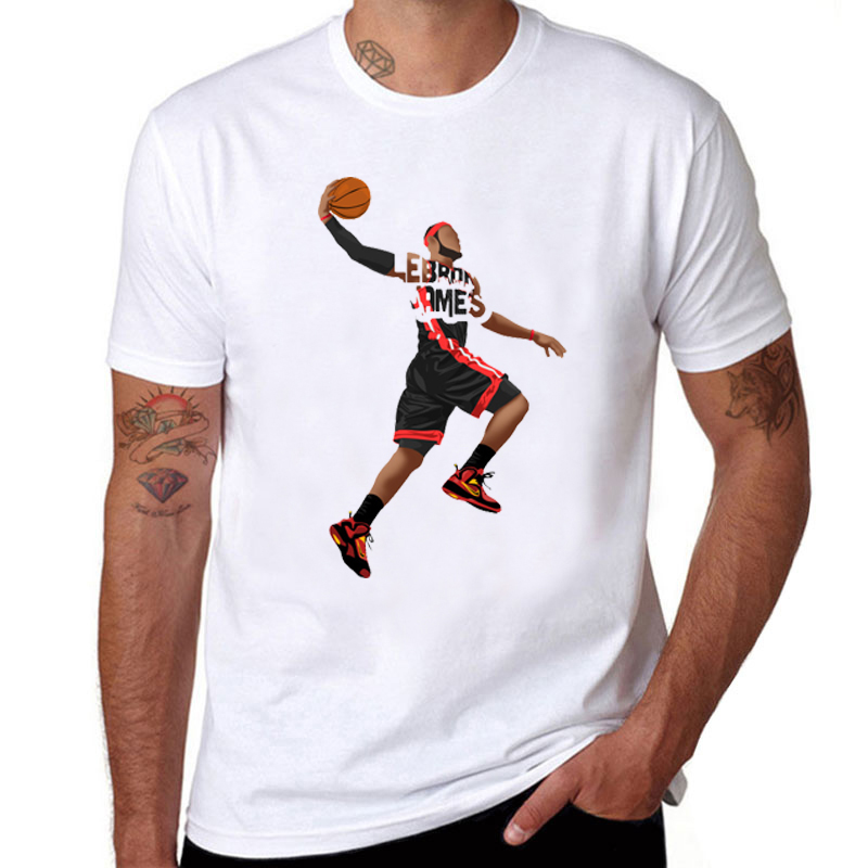 73ce37b3084 Los Angeles Fans T shirt 2018 King Lebron James Lakers T Shirt La Basket  Ball Fans Tee New King James Shirt Tops-in T-Shirts from Men s Clothing on  ...