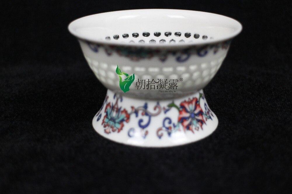 White Ceramic tea strainers tea accessories tools