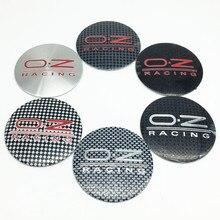 4 шт. 56 мм 60 мм 65 мм 68 мм O.Z OZ колпачок ступицы колеса значок стикер колеса пылезащитные Чехлы 3D логотип наклейка Аксессуары для стайлинга автомобилей