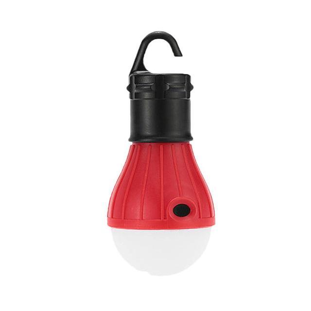 Lámpara de tienda de campaña portátil para acampar, lámpara LED para tienda de campaña al aire libre, Bombilla de batería para colgar, linterna led para Camping