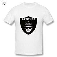 O Neck Man Attitude Eazy E Raiders T Shirts Nice Tee Shirts Plus Size Tees Nice