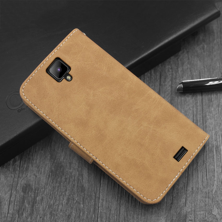 Hot! <font><b>Oukitel</b></font> <font><b>K4000</b></font> Pro Case High quality flip leather phone bag cover case for <font><b>Oukitel</b></font> <font><b>K4000</b></font> Pro with Front slide card slot image