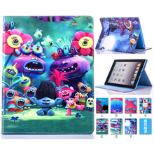 2017 Magic Wizard Cartoon Flip Stand Leather Cover Smart Case For iPad mini1 iPad mini 2 iPad mini 3 Fashion Child Silicone Case цена и фото