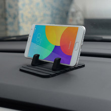 Car Decor Soft Silicone Phone Holder Anti Slip Mat Pad Automobiles Dashboard GPS Support Desktop Stand Bracket Auto Accessories(China)