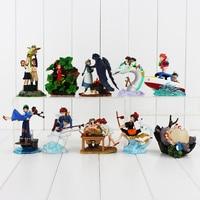 Full 10sets Hayao Miyazaki Studio Ghibli Warriors Of The Wind The Borrower Arrietty Ponyo On The