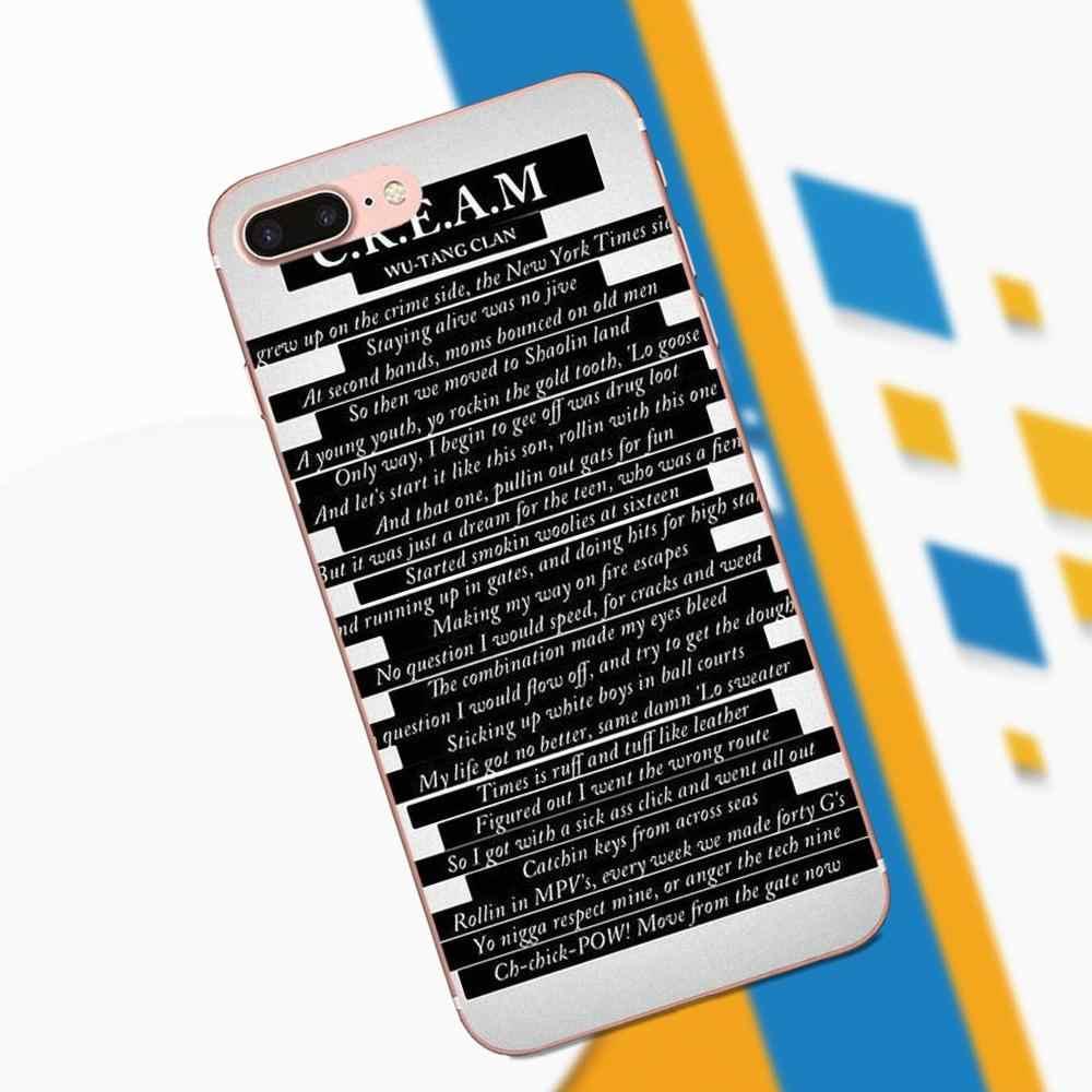 ウータンクランソング名引用 Xiaomi Redmi 注 2 3 3 S 4 4A 4 × 5 5A 6 6A プロプラストップ詳細な人気ケース