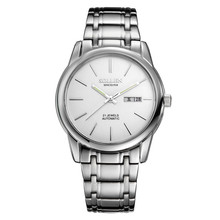 SOLLEN Watch for Men Quartz Wristwatches hollow thin waterproof watch fashion simple silver SL9001E Business