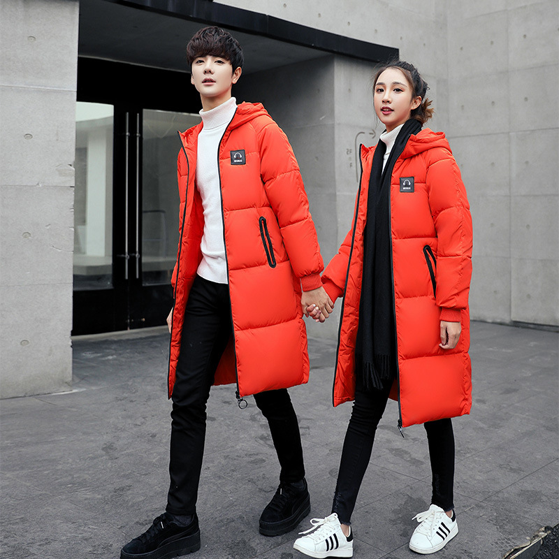Capuchon rouge Femmes army Orange 2018 Poches Parka Solide Veste Green Manteaux Mode Et Coton D'hiver champagne Chaud Rembourré Couple Vestes À Longue noir Femme De gris Ct0xqSwx