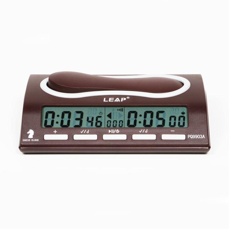 Saut Échecs Horloge Compte à Rebours Numérique Compact Professionnel Carte Électronique Maître De Jeu Tournoi l'envoi bonus Concours