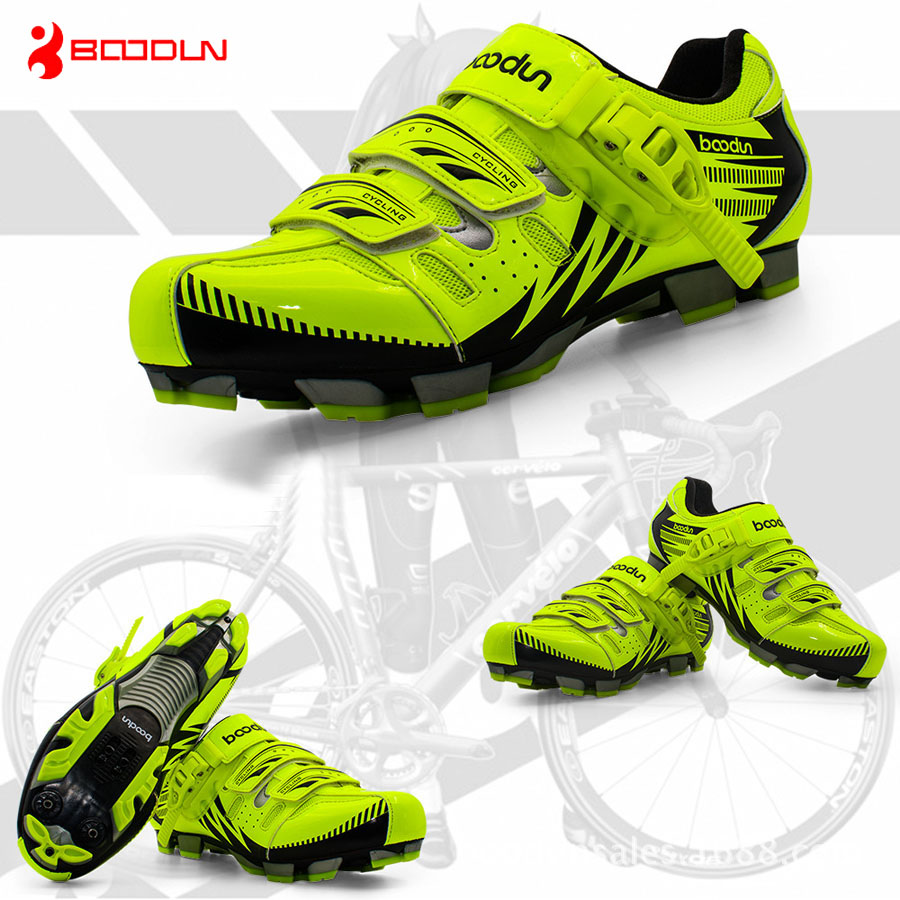 Boodun Breathable Men MTB Shoes Racing Mountain Bike Cycling Shoes Self-Locking Athletic Calzado MTB Road Bicycle Sneakers светильник ruges блиц набор 3шт d 19