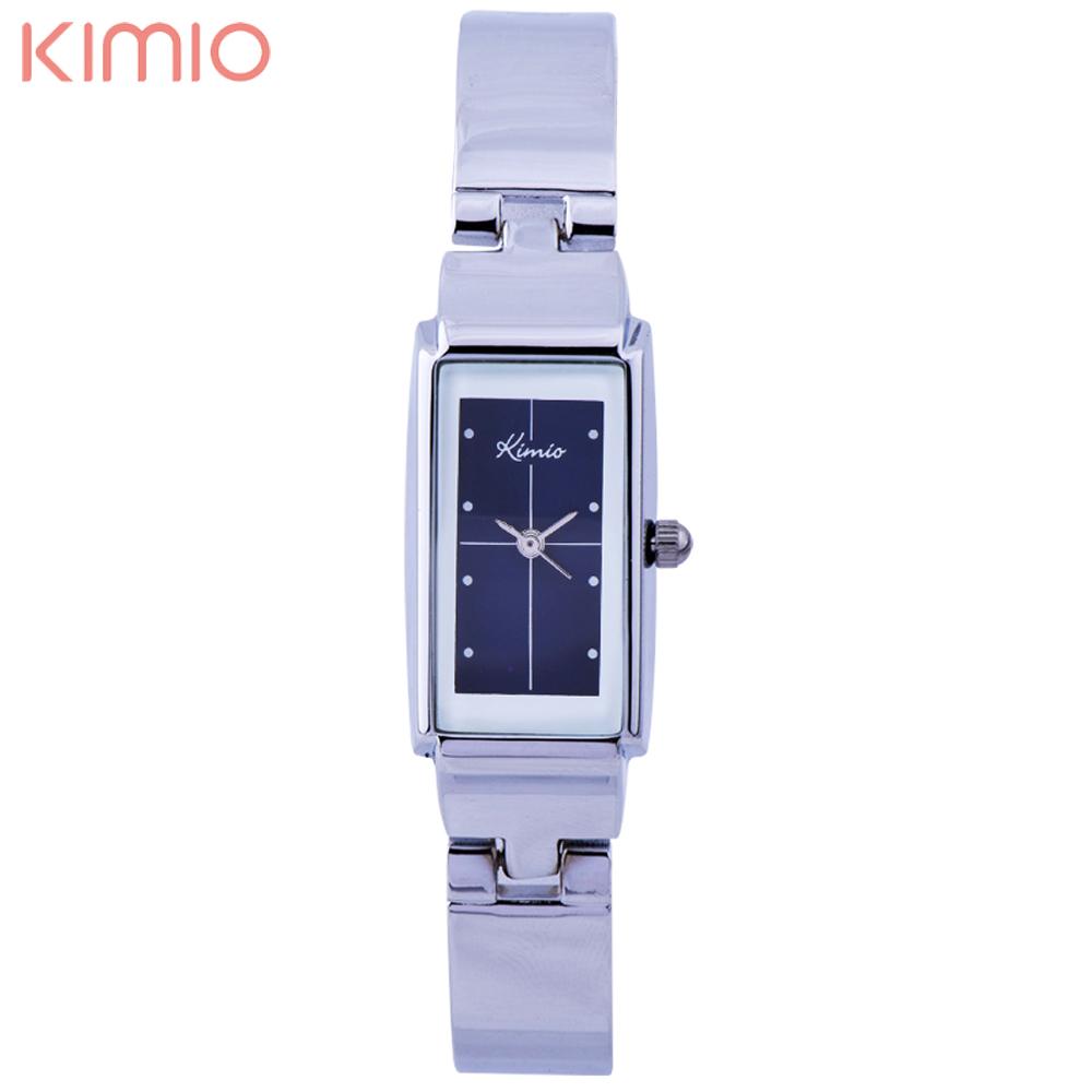 Prix pour Kimio bling de mode cristal femmes élégantes lady en acier inoxydable bracelet à quartz montres
